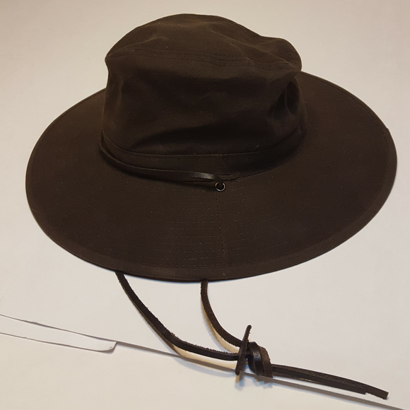 Dorfman Pacific Headwear Oil Cloth 100% Cotton Hat 47aec8409a4